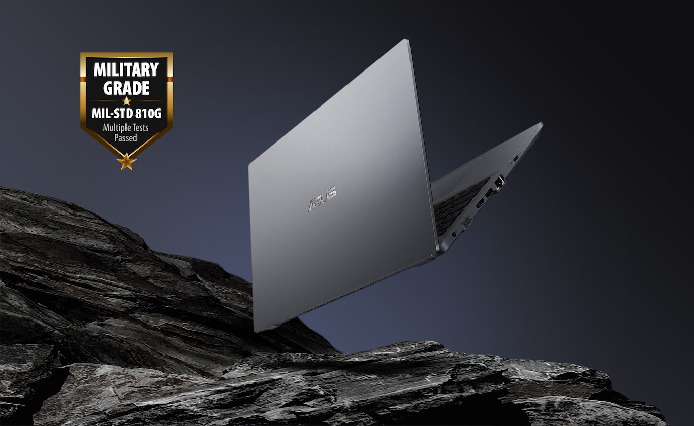 Asus ExpertBook P3 P3540 standard wojskowy MIL-STD 810G